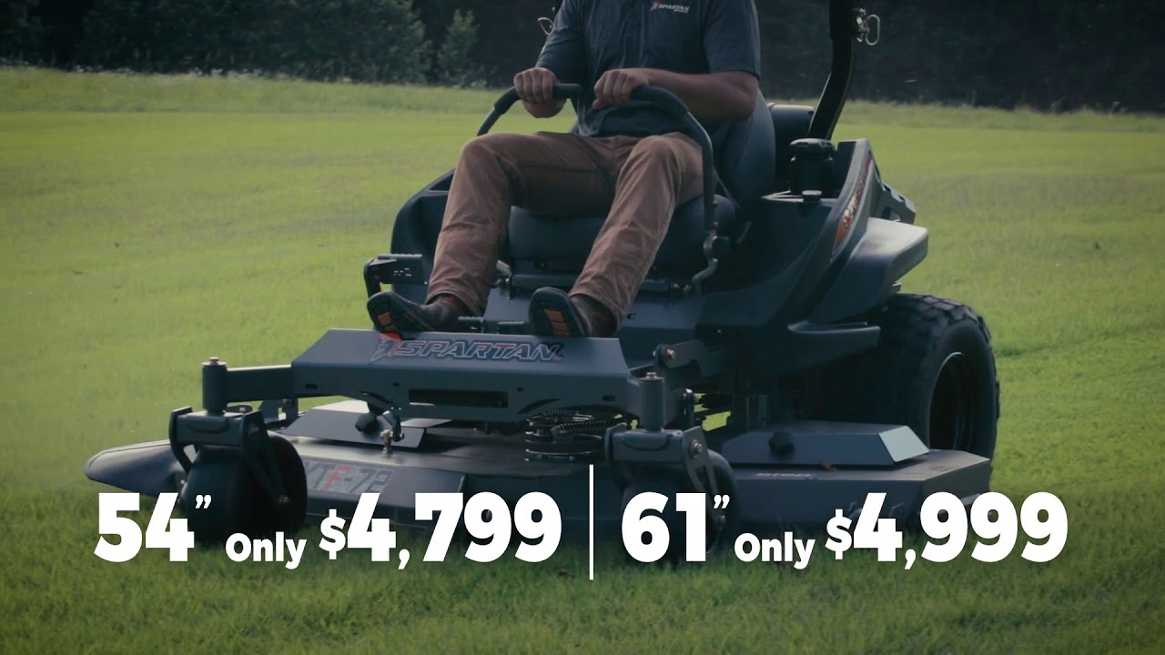 Spartan Mower Commercial