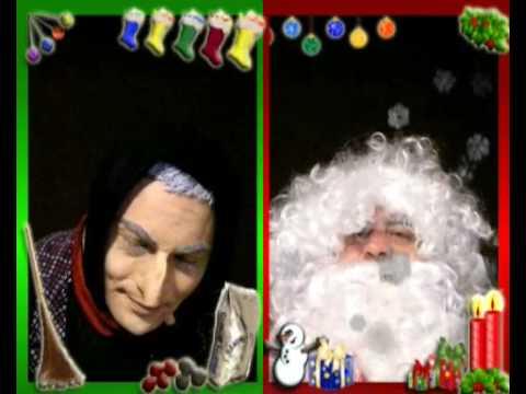 Befana E Babbo Natale.Intervista Doppia Befana Babbo Natale