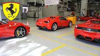 Ferrari Production Band from Factory / Mega Factories
