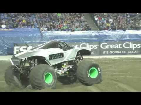 Alien Invasion Driver Bernard Lyght's Sidewall Save Tacoma