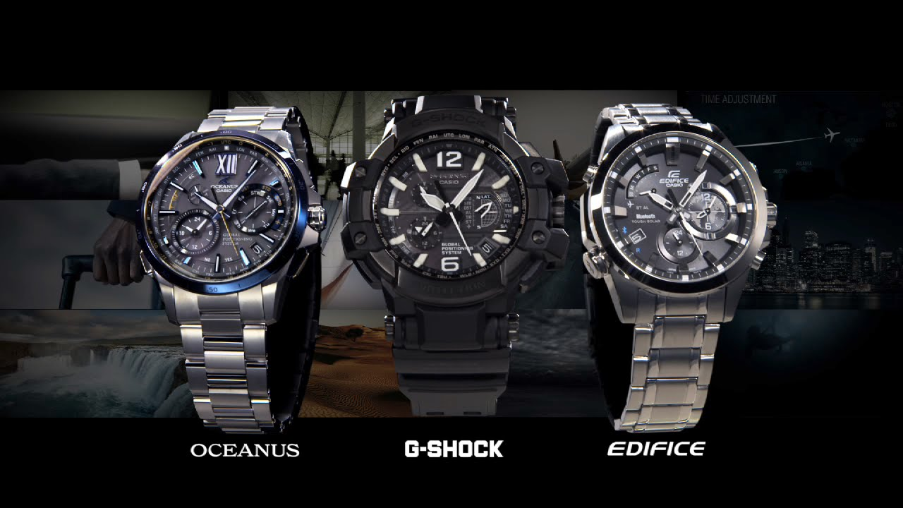 Casio Global Time Sync Philosophy Video Youtube