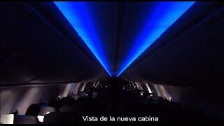 Nuevo Boeing 737-800 con Sky Interior de Aerolineas Argentinas despegando de Bariloche