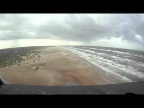 RDAF C130 Landing On Beach