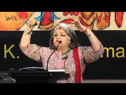 Alka Pande Introduces Art of K G Subramanian: Chandigarh Lalit Kala Akademi