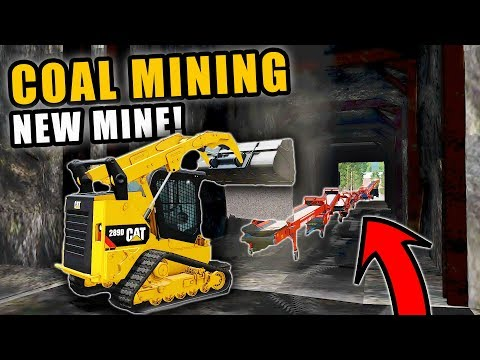 THE COAL MINE IS UP & RUNNING USING CONVERYOR BELTS | COAL MINING | FARMING SIMULATOR 2017