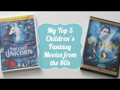 Top 5 Children's Fantasy Movies from the 80s