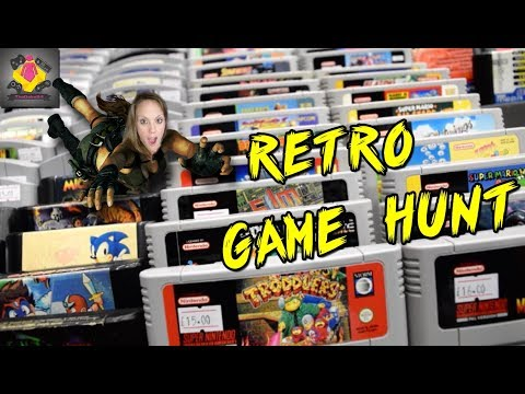 Retro Game Hunting | Retro Game Market | Retro Game TREASURES GALORE | TheGebs24