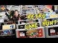 Retro Game Hunting | Retro Game Market | Retro Game TREASURES GALORE | TheGebs24