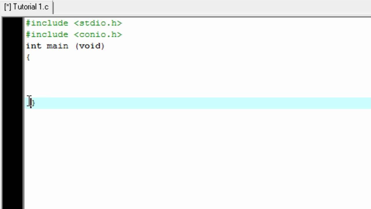 basic c programming tutorial pdf