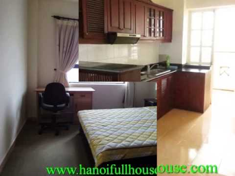 Nice & cheap beautiful penthouse apartment with 3 bedrooms for rent in Ba Dinh dist