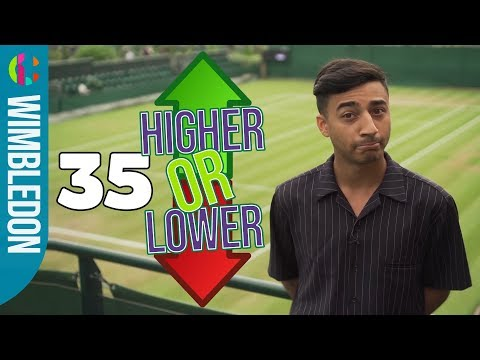 Wimbledon Higher or Lower Game | How Many Can You Guess Right?