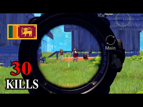 SL Kollo EP 6 | Duo vs Squad | PUBG Mobile | Wiping Sanhok | 30 Kills