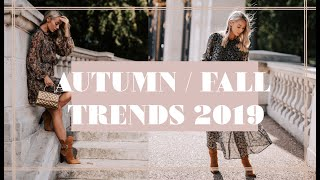 10 TRENDS FOR AUTUMN ( FALL) WINTER 2019 & How To Wear Them NOW // Fashion Mumblr