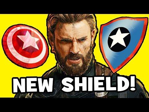Avengers Infinity War THEORY: Captain America's NEW SHIELD