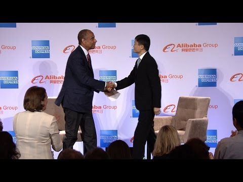 Ken Chenault & Jack Ma: A Conversation about U.S. Small Businesses