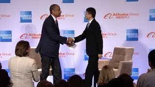 Alibaba Executive Chairman Jack Ma explains why now is the time for U.S. small businesses to enter t.