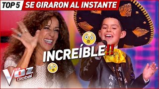 Download GIRARON las sillas al INSTANTE por estas AUDICIONES en La Voz Kids Mp3 and Videos