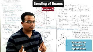 Bending of Beams || Bending Moment in Beam || Lecture 3