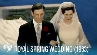 Royal Spring Wedding of Princess Alexandra (1963) | British Pathé