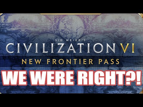 Civilization VI New Frontiers Pass: A Year of New Civilizations & Content! (All Platforms!) |