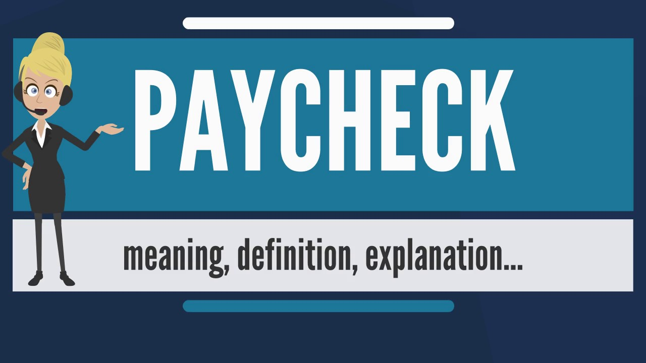What is PAYCHECK? What does PAYCHECK mean? PAYCHECK meaning ...