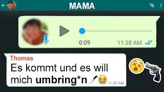 ►Gruselige Chats😢 mit Mama in WhatsApp🖤😨...