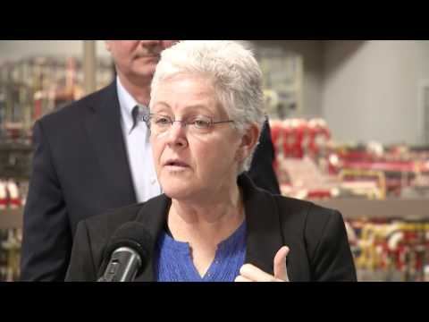 Gina McCarthy: Great Plains Synfuels Plant is innovation in United States