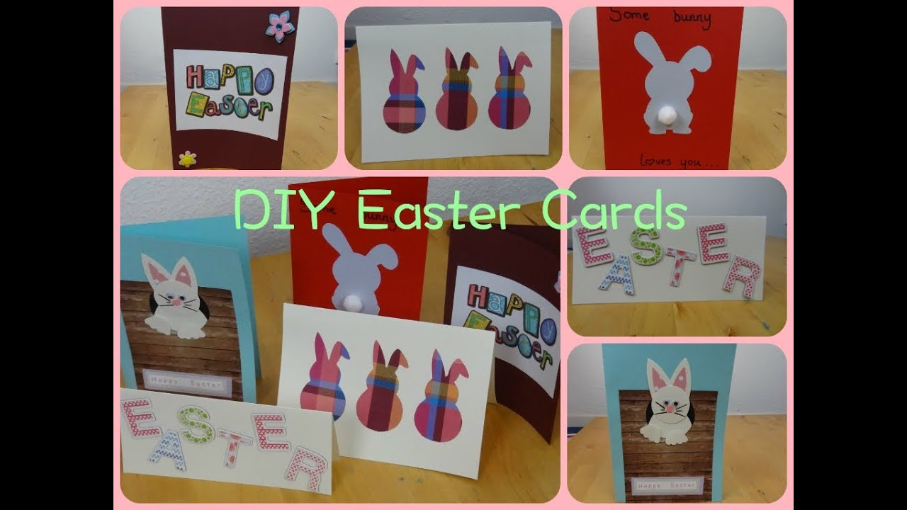 DIY – Make Your Own Easter Cards