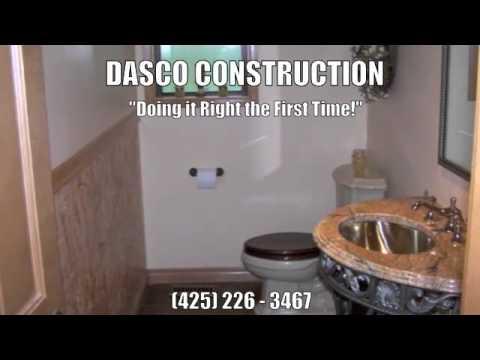 Bathroom Remodeling Contractor Bellevue Washington Dasco Construction