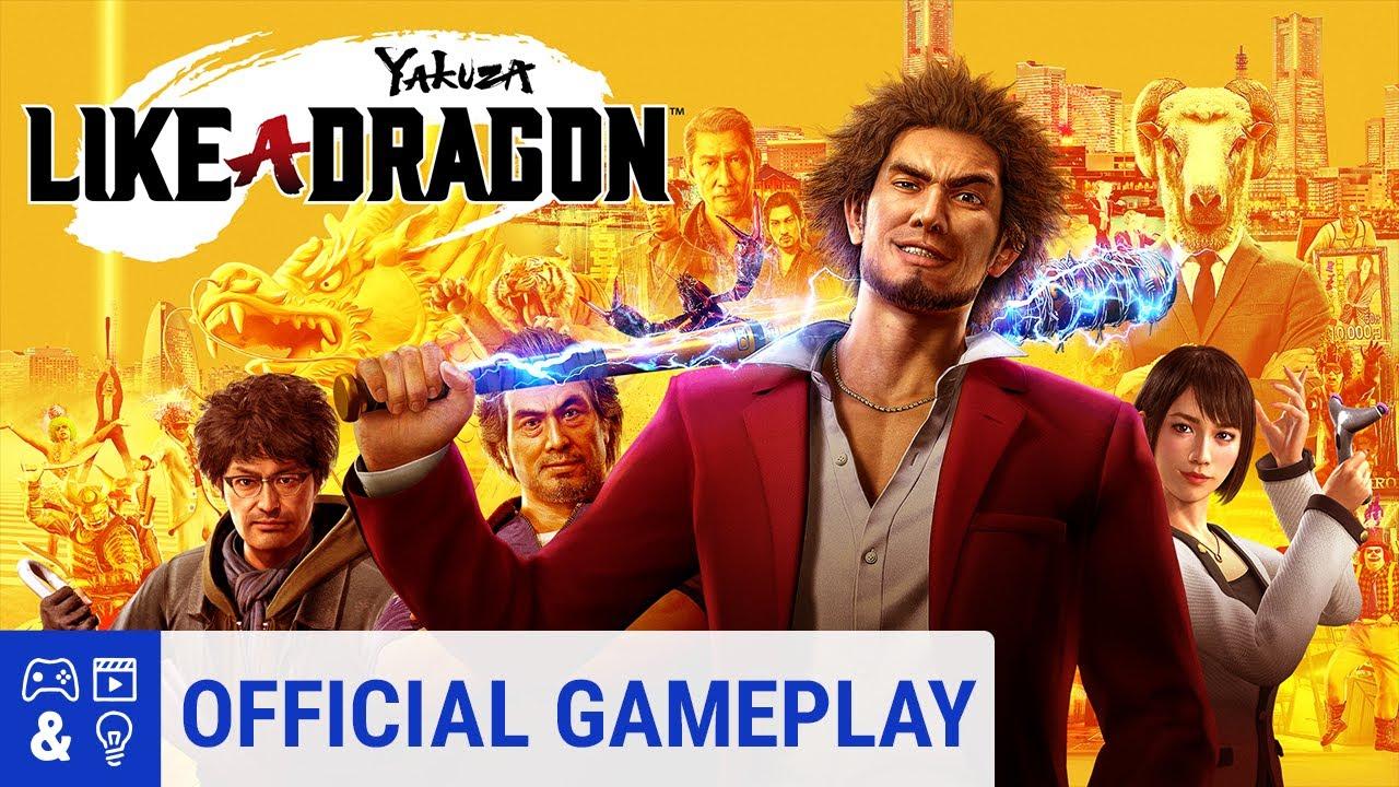 Yakuza Like A Dragon Gameplay Trailer Youtube