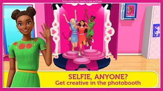 Barbie Dreamhouse Adventures Part 4 Barbie Friends Dress Up Cooking Make up Game