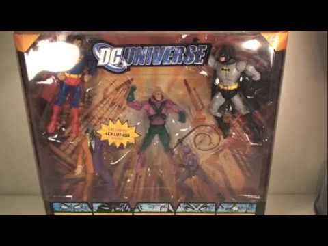 DC Universe Gotham City 5 Pack INTERACTIVE REVIEW! START HERE!!!