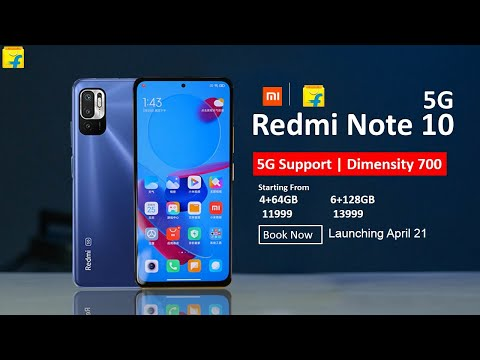 Redmi Note 10: 5G Support, 90Hz, Specs | Amazon Exclusive | Redmi Note 10 Series