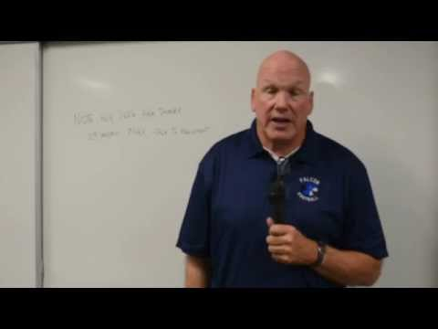 ASC 8072 - Marc Sandall, New Football Coach for the Frazier Mountain High School (FMHS)