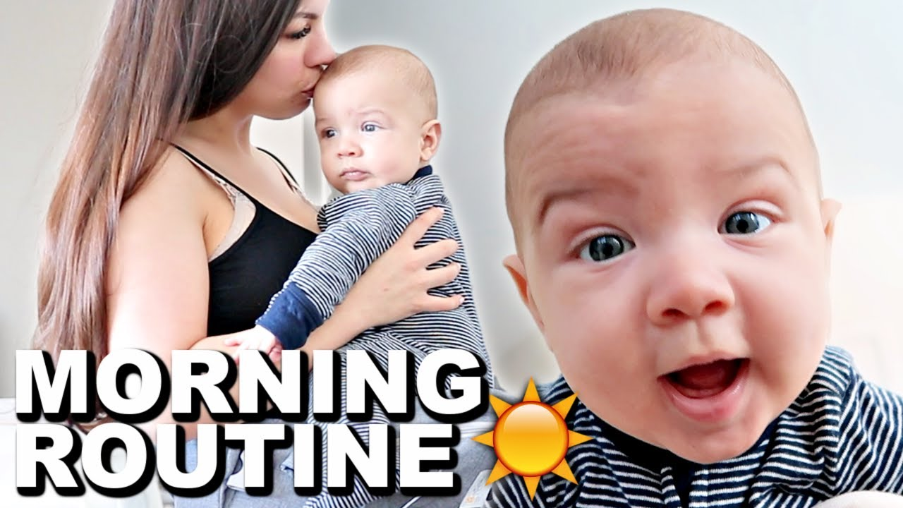 *REALISTIC* MOMMY MORNING ROUTINE WITH A BABY 2021