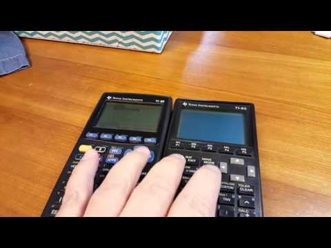 How to fix the black screen on a Texas Instruments Calculators
