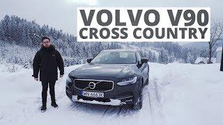 Volvo V90 Cross Country - góry, śnieg i napęd na 4 koła