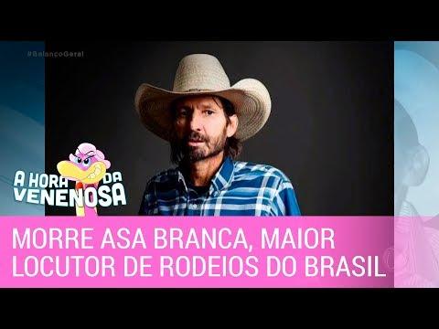 Morre Asa Branca, maior locutor de rodeios do Brasil