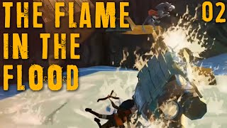 "THE FLAME IN THE FLOOD Part 02 - ""GNARLY WAVES BRO!!!"" Beta gameplay walkthrough"