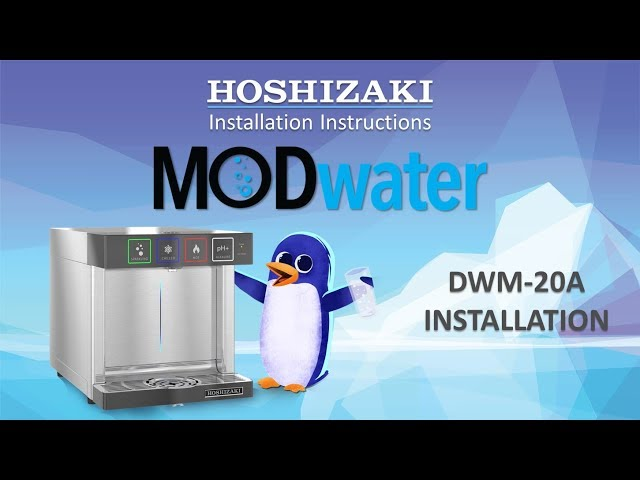 How to Install the DWM-20A MODwater Countertop Water Dispenser
