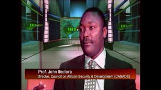 Professor John Ifediora and Professor Oshita on Nigeria National Security Summit 2016