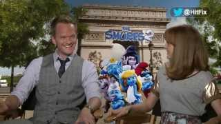 The Smurfs 2 - Neil Patrick Harris & Jayma Mays Interview