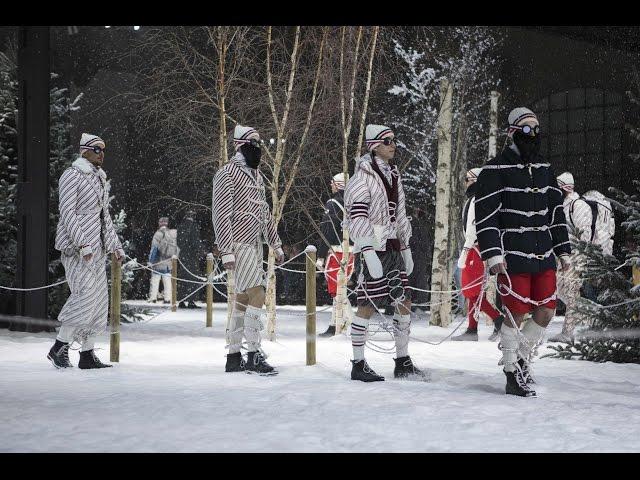 Moncler Gamme Bleu Fall-Winter 2017/18 Show