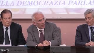 Tavola rotonda  - Poteri del Presidente della Repubblica nella democrazia parlamentare  - Bari, 12 giugno 2018