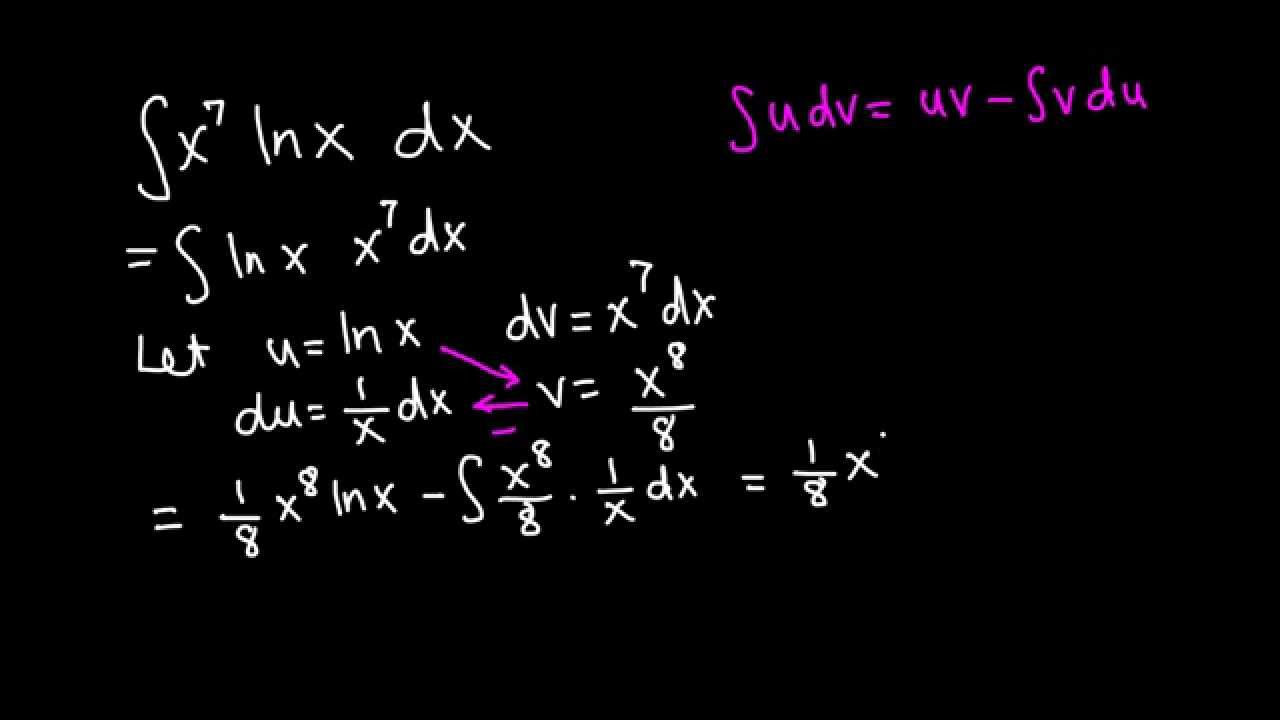 how to solve ln x 2