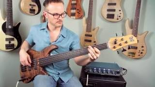 Mike Pope and the Emperor 5 Standard Fretless