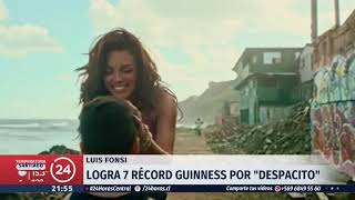 Luis Fonsi logra siete récords Guinness con el tema