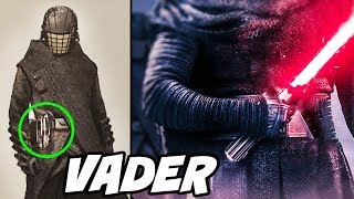 Knight of Ren HAS VADER'S LIGHTSABER and We All Missed it
