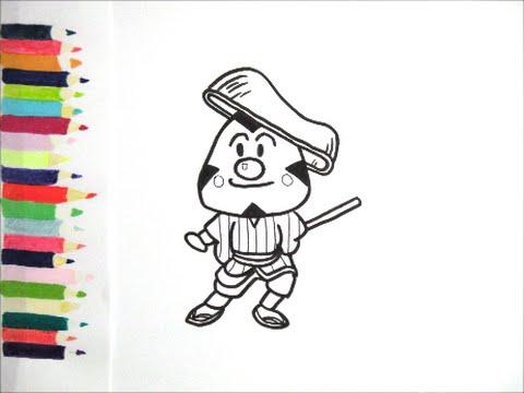 アンパンマンイラスト 描けたらうれしい おむすびまんの絵の描き方 How To Draw Anpanman Youtube