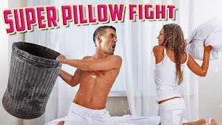 Cushion Pushin' - Super Pillow Fight Gameplay